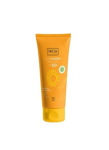 Incia Incia Sunscreen SPF50+ Face Cream 50ml Renksiz